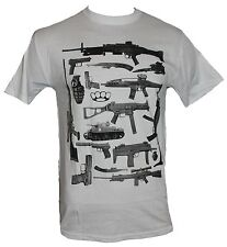 Guns and More Mens T-Shirt - Ultimate Weaponry Collection Image