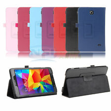 PU Leather Stand Case Smart Cover For Samsung Galaxy Tab 4 8 Inch SM-T330NU T337