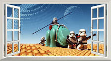 Lego Star Wars Colour Magic Window Image Wall Sticker Mural Poster multi size V1