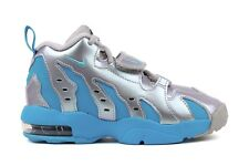 Nike Air DT Max 96 616503 004 PS Little Kids Youth Silver Blue Basketball Shoes