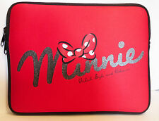 "Official Disney Minnie Mouse 8"" to 9.5"" Ipad Tablet Sleeve Carry Case Bag"