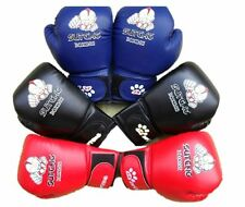 Kids Child Boy Boxing Gloves Fight Grapple Punch Muay Thai Training 3-12 Years