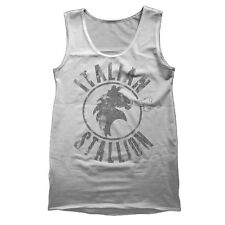 ITALIAN STALLION cool funny attrative italy stallion new awesome TANK TOP GRAY