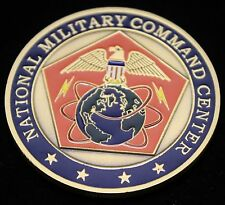 National Military Command Challenge Coin, Airtite Coin Capsule & Display Box