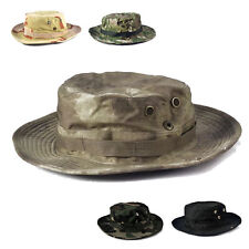 Bucket Hat Boonie Hunting Fishing Outdoor Cap Army Wide Brim Military Boonie Hat