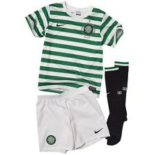 Genuine Nike Junior Celtic Home Full Kit 2012-2013, Shirt,Shorts + Socks