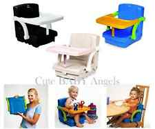 Kids Kit Hi-Seat Child Feeding Booster Adjustable Travel Play High Chair Toddler