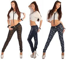 SD3 Sexy Womens Jeans Skinny Jeans Tube Jeans Camouflage Army Women's Pants