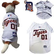 MLB Pet Fan Gear DETROIT TIGERS Jersey Shirt Tank for Dog Dogs Puppy Puppies