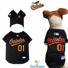 MLB Pet Fan Gear BALTIMORE ORIOLES Jersey Shirt Tank for Dog Dogs Puppy Puppies