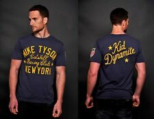 Roots of Fight Mike Tyson Kid Dynamite Shirt L XL