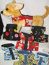 Dog &Cat Harness,Vest Size SMALL Adorable, more colors & sizes in my e-bay store