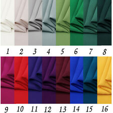 100% pure silk crepe de chine 30  MM, no stretch multi colors