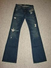NEW 7 FOR ALL MANKIND ORIGINAL BOOTCUT STRETCH JEANS WOMEN'S SIZES 24, 25