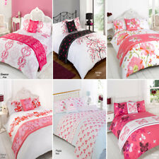 Duvet Quilt Bedding Bed In A Bag Pink Single Double King Kingsize Super King
