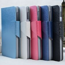 Flip Folio Leather Case Cover  For Lenovo S660 (5 Colors) a