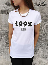* 199X Kid T-shirt Top Tumblr Fashion Blogger 90's 1990's Swag Dope Fresh Tee *