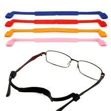 Colorful Silicone Eyeglasses Strap Glasses Sunglasses Sports Band Cord Holder