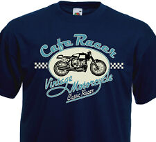 T-shirt CAFE RACER Vintage Motorcycle Biker BMW Flat-Twin Racing Custom R80