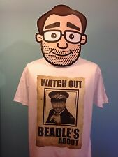 Jeremy Beadle T-Shirt - Male - Watch Out Beadle's About!