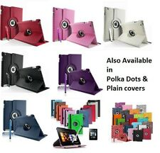 LEATHER DIAMOND DEGREE ROTATING CASE COVER STAND FOR  iPAD 5 iPAD AIR 2013