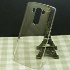 2 x Clear Transparent crystal Hard Back Case Cover skin for Sony mobile phone