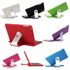 Swivel Rotary Stand Wireless Cover Case Bluetooth Keyboard for iPad Mini 3 2 1