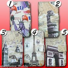 Pattern Wallet PU Patterned Leather Stand Case Flip Cover for LG Nexus 4 E960