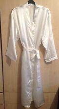 LADIES EX STORE  SATIN  DRESSING GOWN/ROBE IN UK SIZES 8 - 24