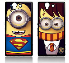 SONY XPERIA Z 1 L39H Z1 COVER CASE DESPICABLE ME SUPERMAN HARRY POTTER MINION