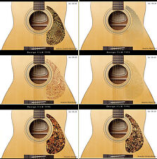 AntiScratch Guitar PickGuard for Acoustic Electric Bass Guitars, B-Stars&Strips
