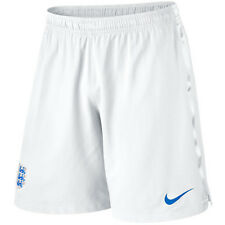 Nike England WC World Cup 2014 Home Soccer Shorts Brand New White