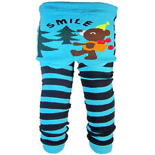 Baby Boy Girl Toddler Leggings Cartoot Socks Knitting Cotton PP Pants C6
