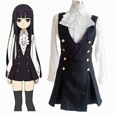 Inu x Boku SS Secret Service Shirakiin Ririchiy Cosplay Dress Uniform Karuta
