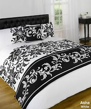 Asha White Quilt Bed in a Bag set - Single Double King Size Super King Size