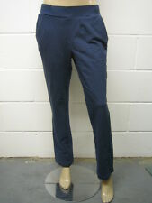 Womens ESPRIT Full Bottoms Joggers Gold Embro - Navy Size 12 to 18 Ladies WA10