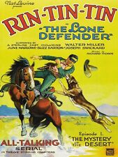 "4162.Rin Tin Tin ""the Lone Defender"".episode 1.POSTER.Home School art decor"