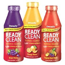 Ready Clean Detox Herbal Cleanse Vitamin Mineral Tropical Fruit Flavor 16oz