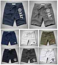 NEW ABERCROMBIE & FITCH A&F MENS CLASSIC FLEECE SHORTS