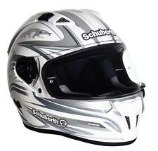 Intégral route Schuberth Sr1 Racing Line White Silver Grey
