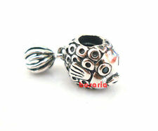 925 Sterling Silver Animal Angel Fish Threaded Fit European Bead Charm Bracelet