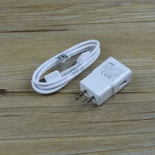 5V 2A Travel Wall Charger USB Cable For Samsung Galaxy NOTE 3 N9005 & S5 i9600