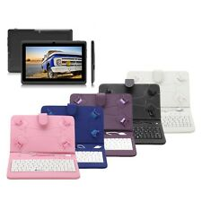 "iRulu Tablet PC New Pink 7"" 8GB Google Android 4.2 Quad Core w/ Keyboard Case"