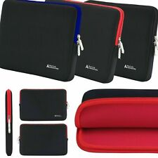 """10.1"""", 10.2"""" Toshiba Acer HP Dell Samsung Asus Laptop Sleeve Case Bag Cover ,UK"""