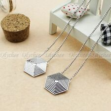 KPOP EXO Overdose Necklace Alloy Logo Pendant New Fashion Jewelry Great Gift 1pc
