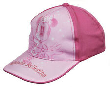 Mini Mouse Baseball Cap Girls Disney Themed Minnie Summer Holiday Beach Hat