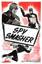 Spy Smasher : Old advertising Poster reproduction