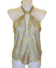 Bnwt Women's French Connection Silk Blouse Halterneck Strappy Top Fcuk RRP£65
