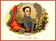 4714.Cuban cigars.bolivar.made in havana.tabaco.POSTER.decor Home Office art
