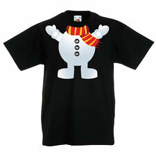 SNOWMAN - Snow / Christmas / Festive / Fun / Novelty Children's Themed T-Shirt